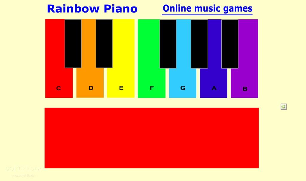 تحميل لعبهRainbow piano for kids قوس قزح البيانو للأطفال