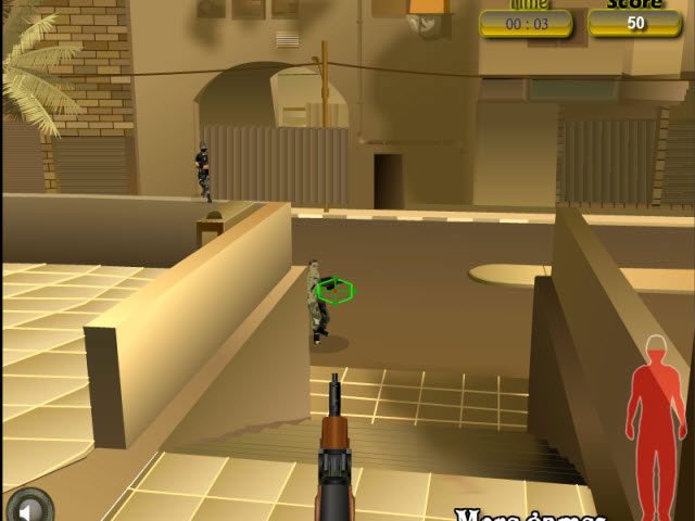 تحميل لعبه3D Sniper قناص ثلاثية الأبعاد