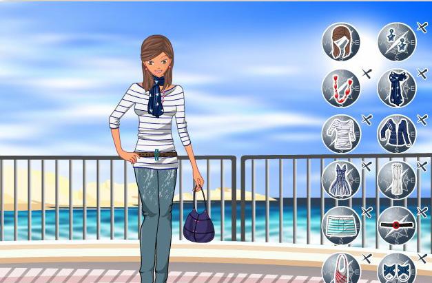 تحميل لعبه تلبيس الفتاه على شاطئ البحر
