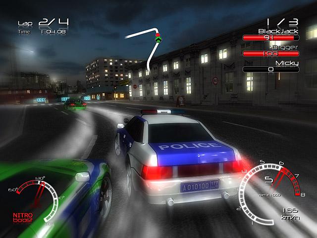 تحميل لعبهRacers vs Police سباق ضد الشرطة