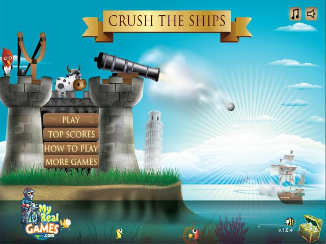 تحميل لعبهCrush the Ships تدمير السفن
