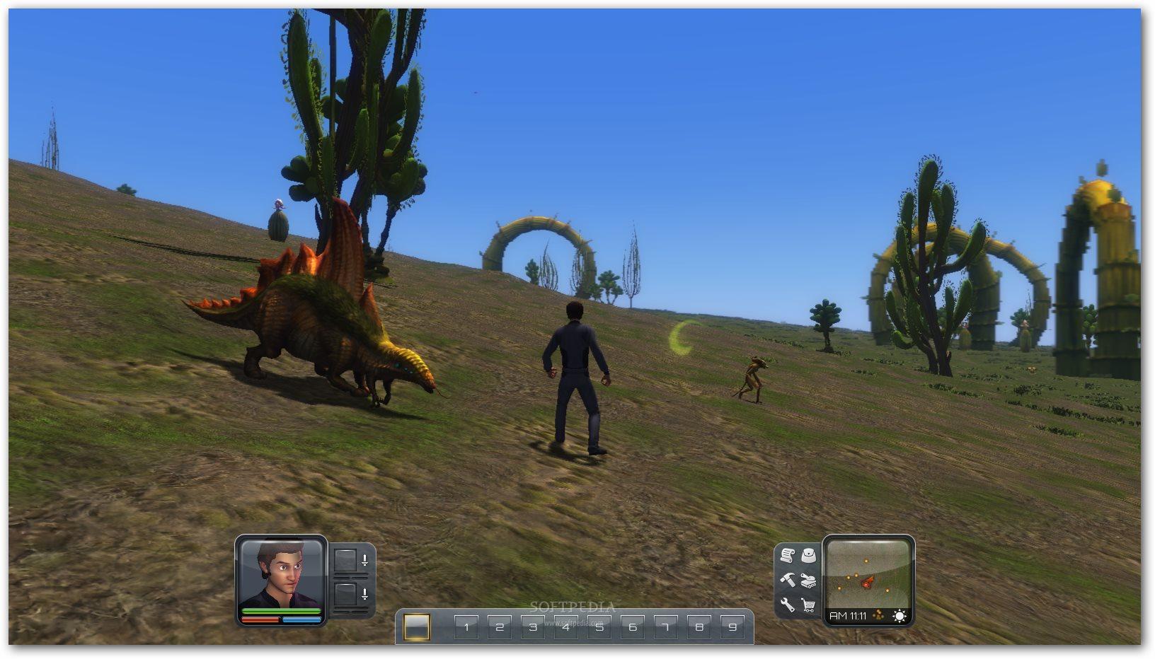تحميل لعبهPlanet Explorers استكشاف الكوكب