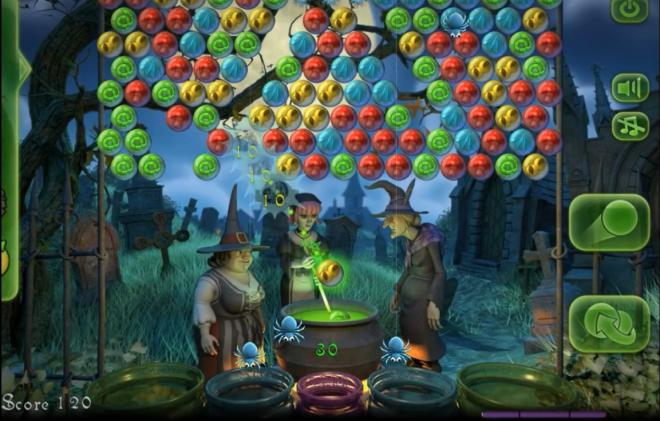 تحميل لعبه اندرويدفقاعات ساغا الساحرة download Bubble Witch Saga
